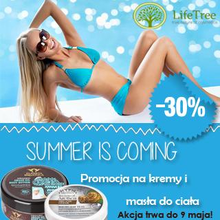 Promocja na kosmetyki organiczne do ciała